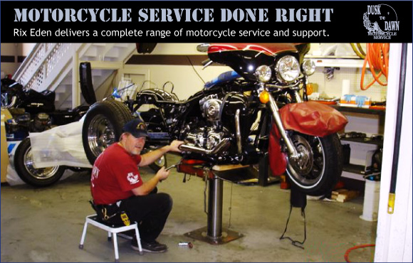 motorcycle service done right