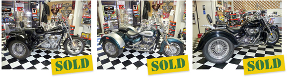 proven used Lehman Trikes from SO CAL TRIKE CENTER: trikes, bikes, trailers and side cars
