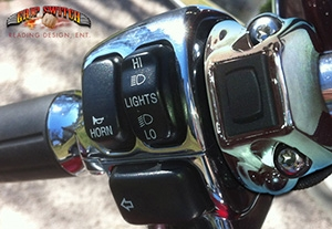 Momentary On Off On Grip Switch For Harley Davidson 226 162