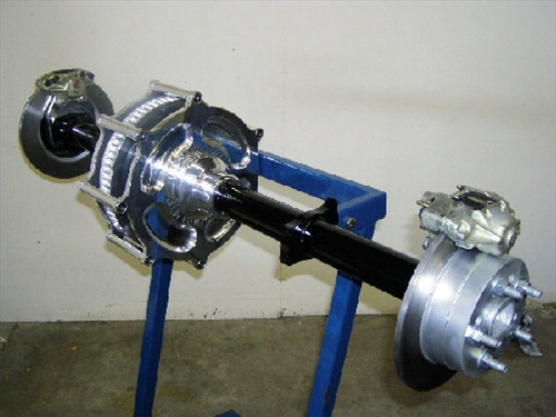 Rear Axle Differential : Custom rear end assembly