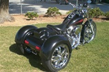Chopper Softail Trike Kit by Corsair