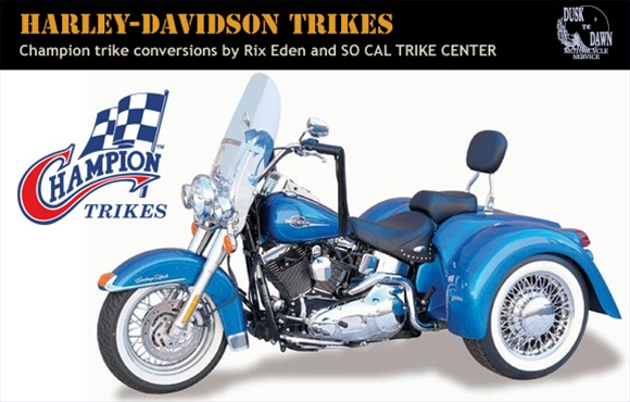 Champion Trike kit for Harley-Davidson FL touring models